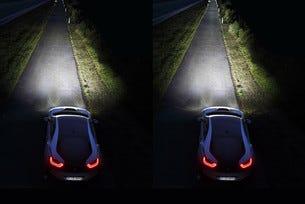 BMW представи лазерни светлини за серийни автомобили