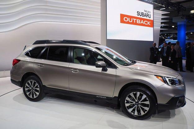 Премиера на петото поколение Subaru Outback в Ню Йорк