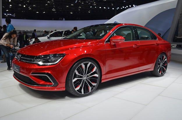 Volkswagen патентова ново купе с четири врати
