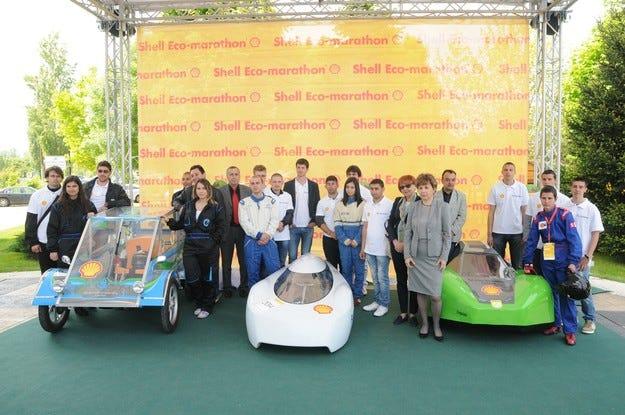 Shell България представи участниците в Shell Eco-marathon Европа 2014