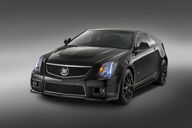 Финалният Cadillac CTS-V Coupe с ограничен тираж