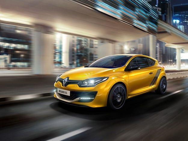 Renault Megane RS Trophy с повече конски сили