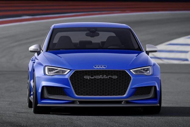 Audi представя концепта A3 Clubsport Quattro