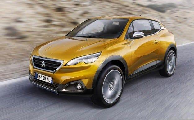 Peugeot подготвя версия с три врати на кросоувъра 2008