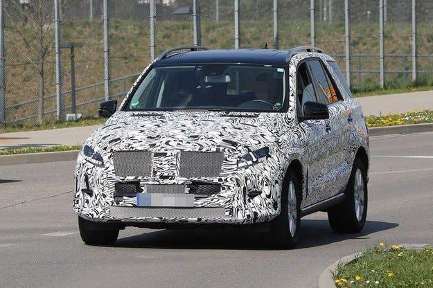 Mercedes M от 2015: Нова визия, нови мотори и нов интериор