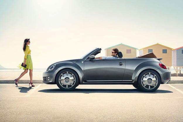 В Лайпциг представиха VW Beetle Cabrio Karmann