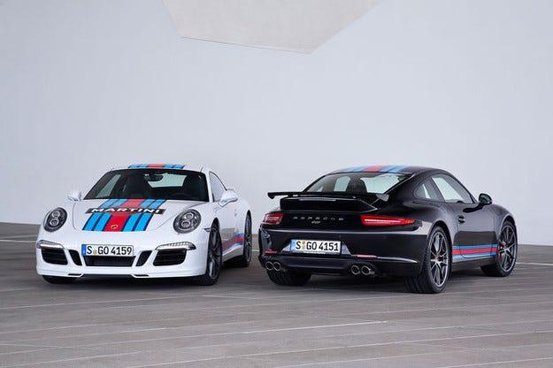 Porsche 911 Carrera S със специално издание Martini Racing