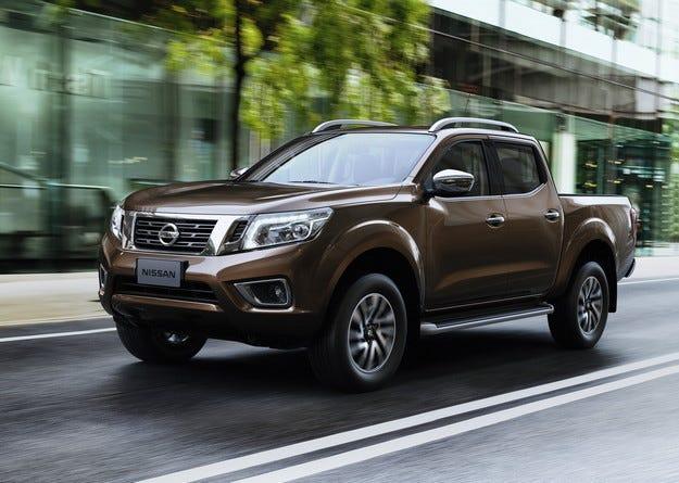 Nissan представи новия пикап Navara