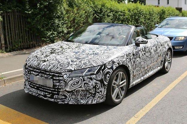 Audi TT Roadster ще се появи на пазара през март 2015
