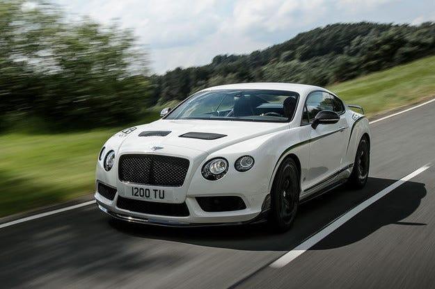 За джентълмени състезатели: Bentley Continental GT3-R
