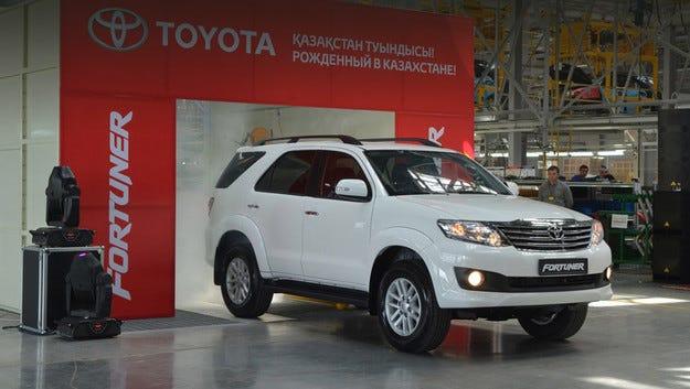 Toyota започна производство на всъдеходи в  Казахстан
