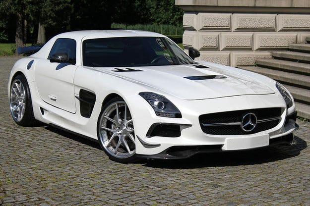 Mercedes пусна само 60 копия от SLS AMG Black Series