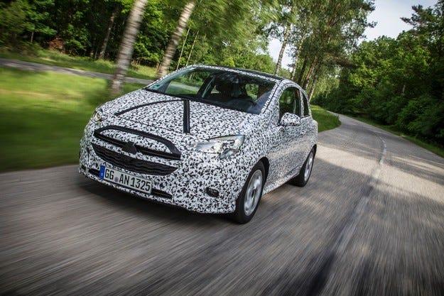 Новата Corsa ще дойде на пазара в края на 2014 г.