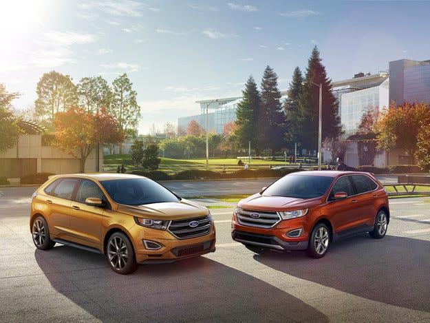Ford представи новия високопроходим модел Edge