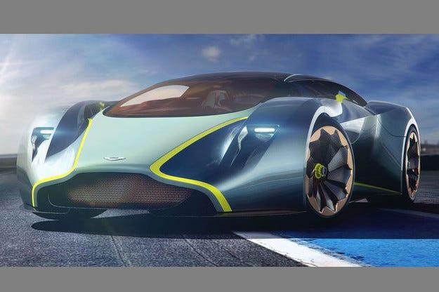 Концепът Aston Martin DP-100 Vision провокира Гудууд