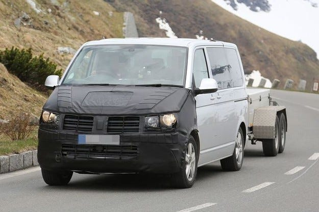 Промените във VW T6 основно в интериора и задвижването