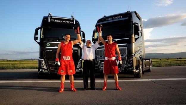 Кубрат и Тервел Пулеви в епично видео на Volvo Trucks