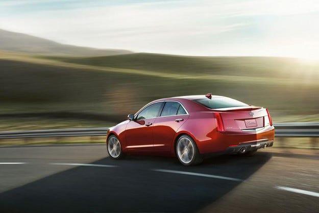 Cadillac представи обновения седан ATS