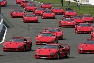 Ferrari рекорд