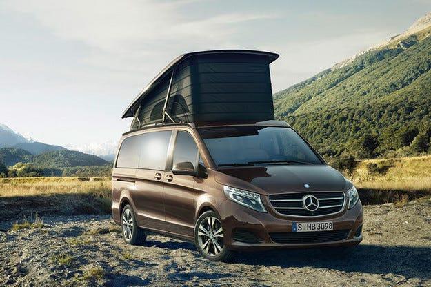 Дебют на Mercedes V-класа Marco Polo на Caravan Salon
