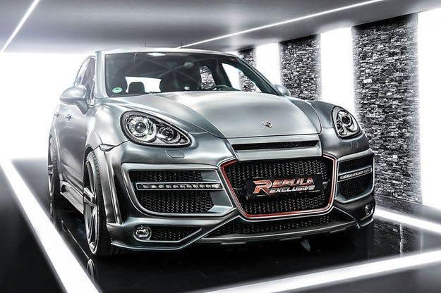Парлива визия на SUV: Regula Exclusive Porsche Cayenne