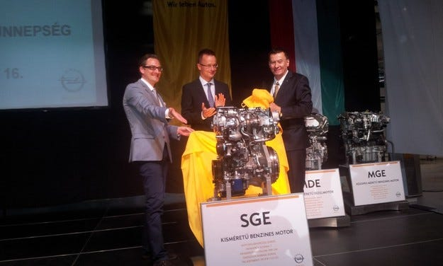 Старт на производството на нови двигатели на Opel