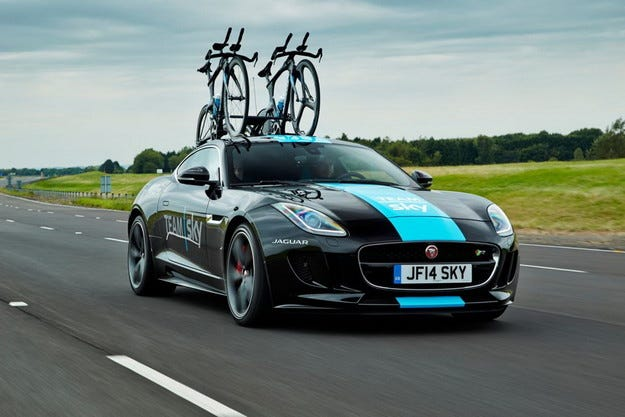 Jaguar със специална версия F-Type за Тур дьо Франс