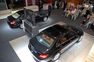 Мерцедес-Бенц леки автомобили на Автомобилен салон София 2007