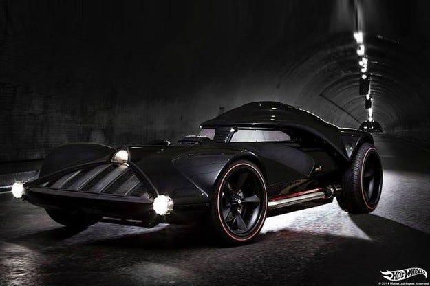 Hot Wheels представи в Сан Диего модела Darth Vader