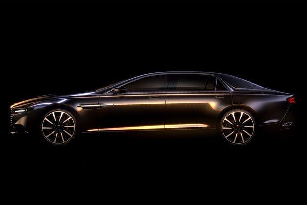 Aston Martin пуска на пазара седана Lagonda през 2015