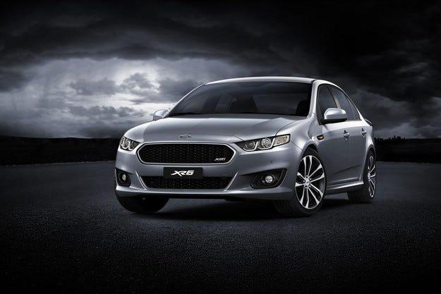 Ford представи последната версия на седана Falcon