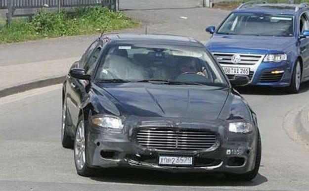 Фейслифт за Maserati Quattroporte