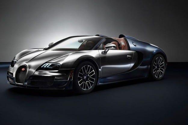 Bugatti Veyron Ettore Bugatti в Пебъл Бийч 2014