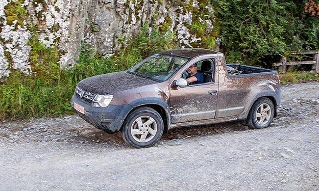 От Dacia Duster направиха лекотоварен автомобил