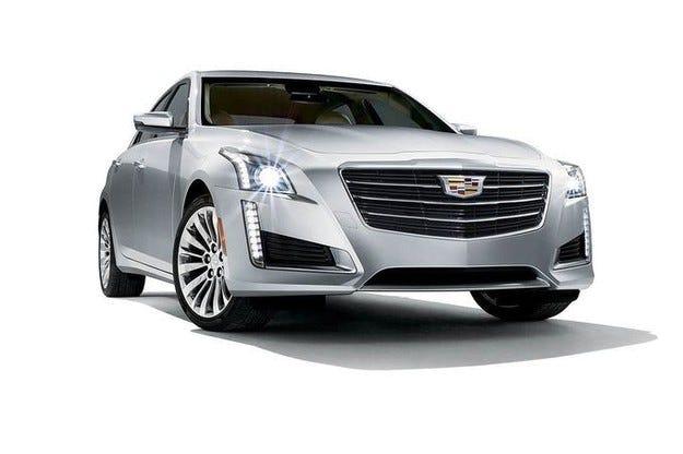 Cadillac CTS: Новости отвън и отвътре за 2015 г.