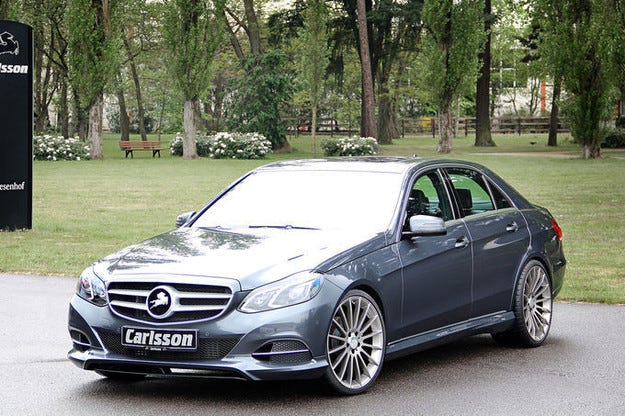 Carlsson Mercedes E-класа: От спортен става елегантен
