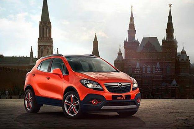 Opel на автомобилното изложение в Москва