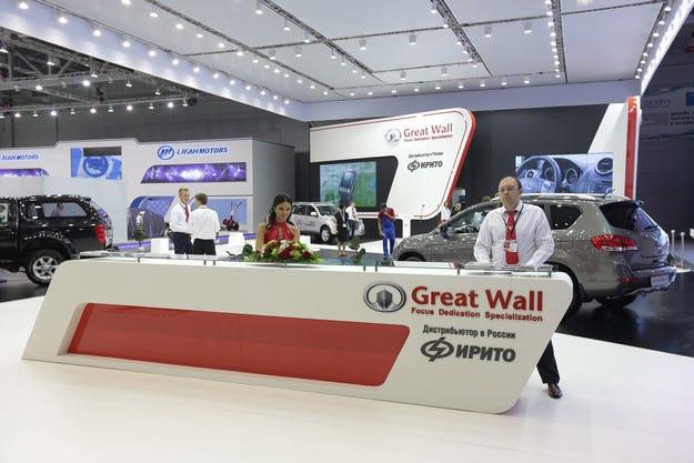 Китайската марка HAVAL прави своя дебют в Москва