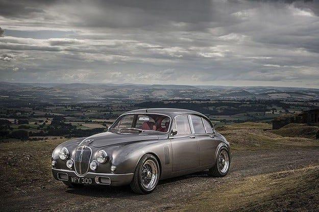 Jaguar Mark 2: Мечтата на шеф дизайнера Иън Калъм