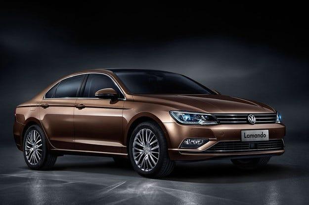 Представиха VW Lamando на изложение в Китай