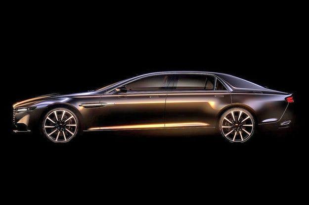 Aston Martin Lagonda: Една голяма луксозна лимузина
