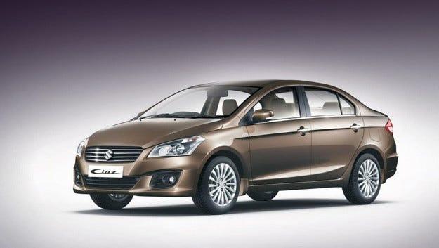 Концептът Suzuki Authentics стана сериен седан Ciaz