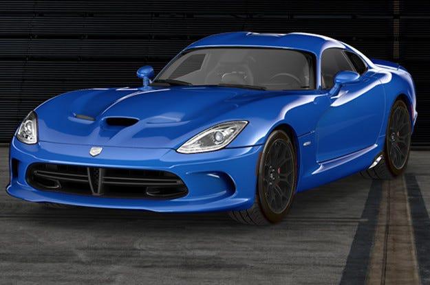 Американската компания Dodge обнови Viper SRT