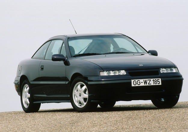 25 години Opel Calibra: Формата следва функциите