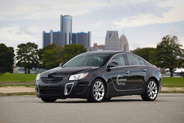 GM и Opel с авангардни технологии за автономно шофиране