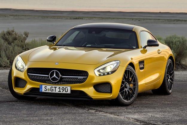 Mercedes разкри изцяло спортния модел AMG GT