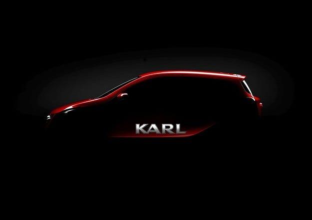 Отговорът на Opel: Най-малкият ще се казва Karl