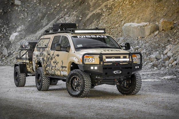 Nissan направи от Titan боец за тежки пътешествия