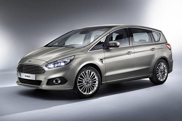 Ford представи второто поколение S-MAX