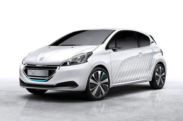 Още подробности за Peugeot 208 Hybrid Air 2L